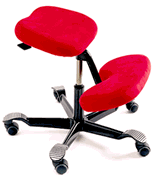 The Ergo is definitely cooler looking than the HAG Balans kneeling chair above. Remember this one?  sc 1 st  The Globus Design Associates Blog - Typepad & Library Furniture Finds from NeoCon (The Globus Design Associates Blog)
